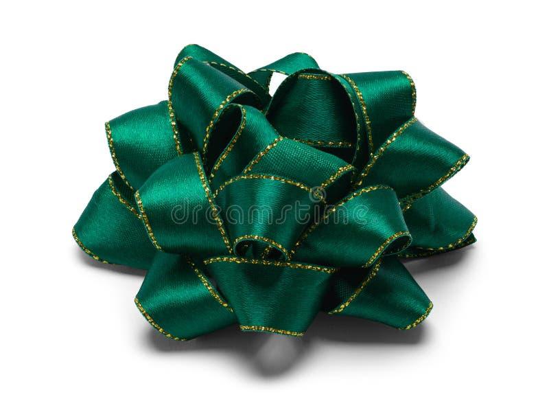 Arco verde de la tela foto de archivo libre de regalías