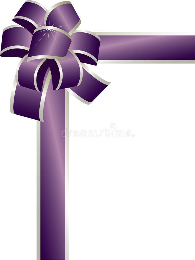 Arco Viola Fotografia Stock Libera da Diritti