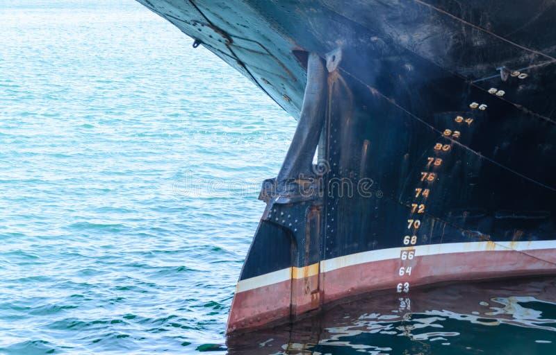 Arco y quilla de una nave grande fotografía de archivo libre de regalías