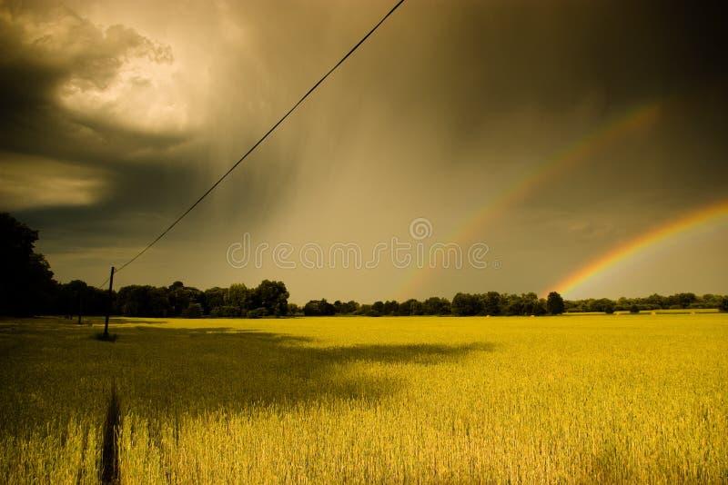 Arcobaleno 3 fotografie stock libere da diritti