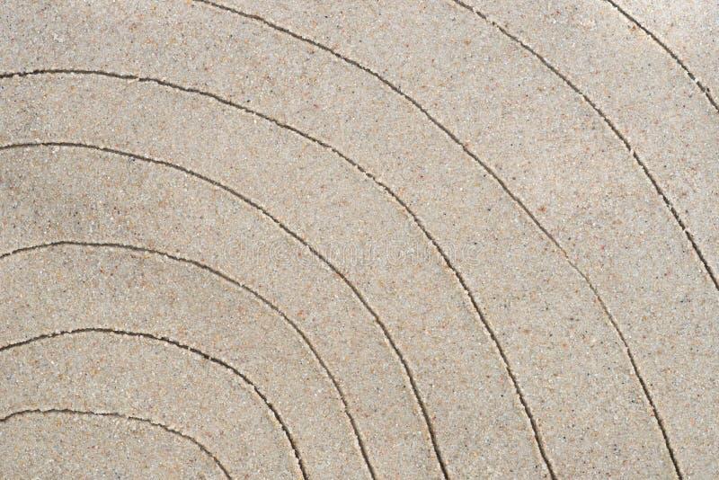 Arcobaleno che assorbe sabbia fotografie stock libere da diritti