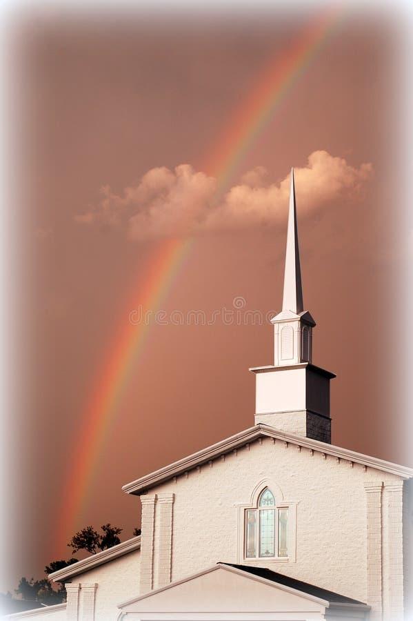 Arcobaleno da Dio fotografia stock libera da diritti