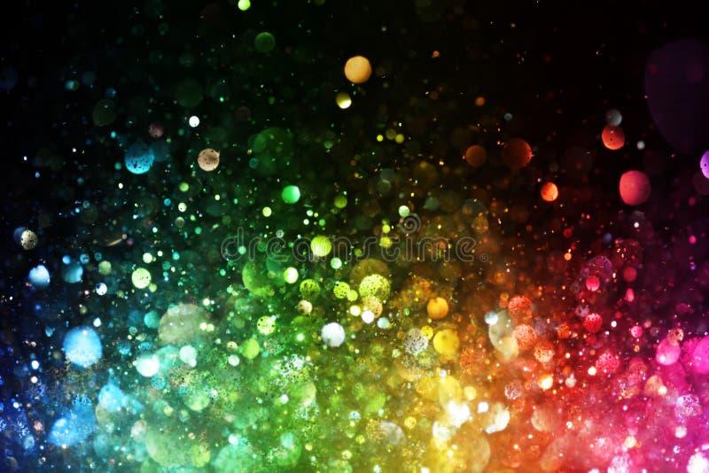 Arcobaleno delle luci fotografie stock libere da diritti