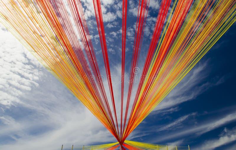 Arcobaleno di Absract immagine stock
