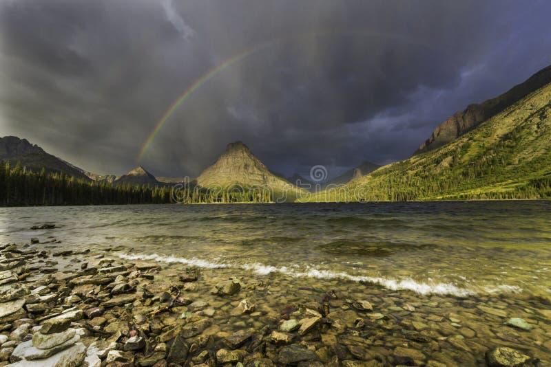 Arcobaleno di Sinopah immagine stock