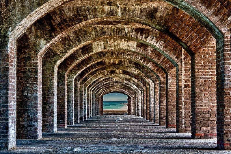 Arcos al océano imágenes de archivo libres de regalías