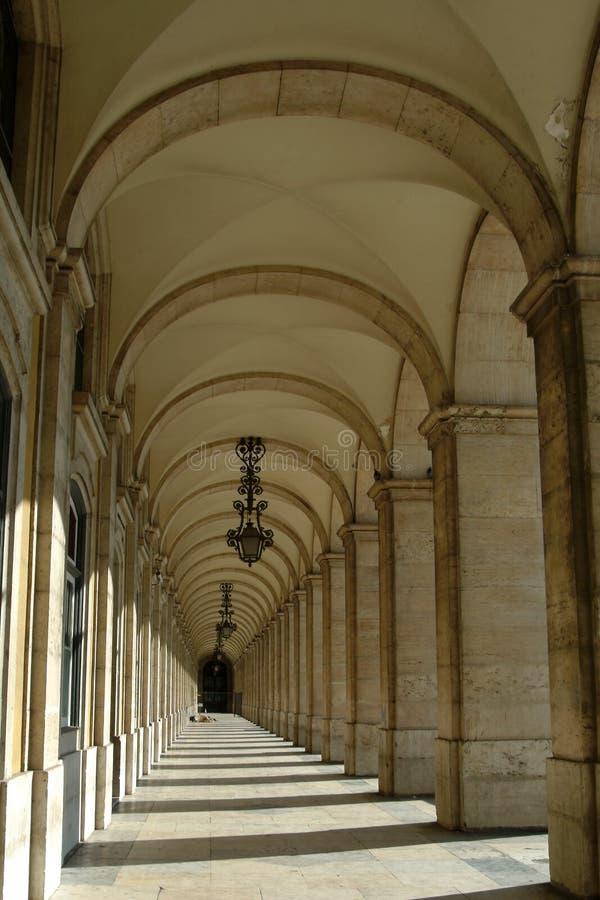 Arcos arquitectónicos imagem de stock royalty free