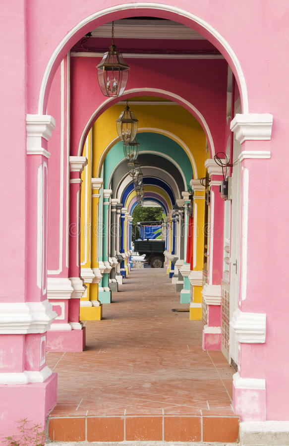 Arcos coloridos foto de archivo libre de regalías