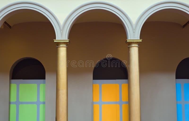 Arcos coloridos imágenes de archivo libres de regalías