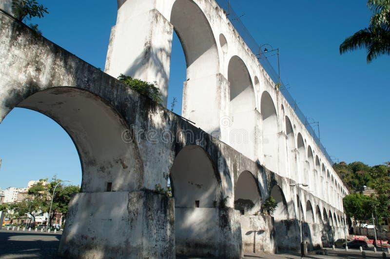 Arcos da Lapa. Rio de Janeiro, Brazil. Downtown District stock photography