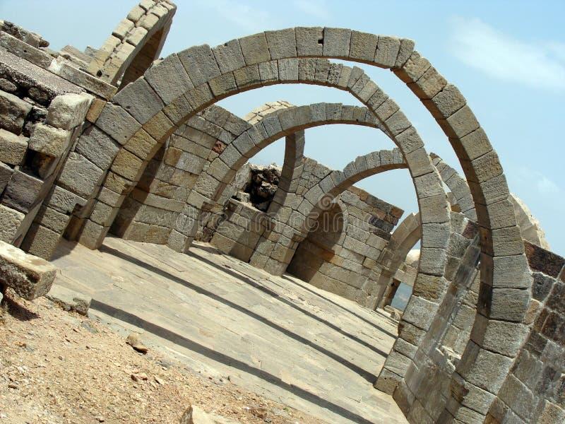 Arcos da rocha imagem de stock