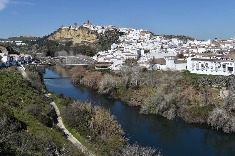 Arcos de la Frontera. Spain stock image