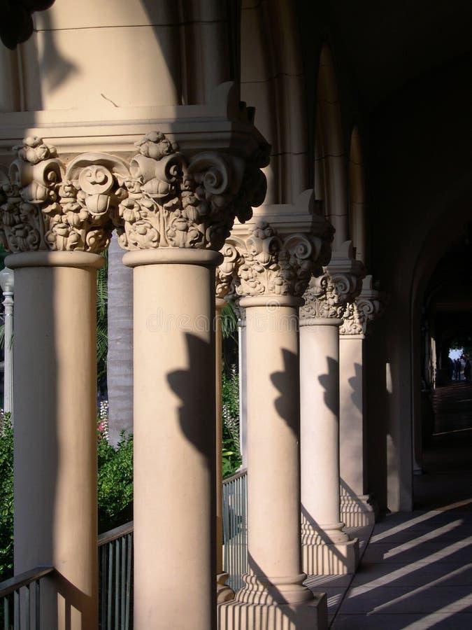 Arcos de la misión imagen de archivo libre de regalías