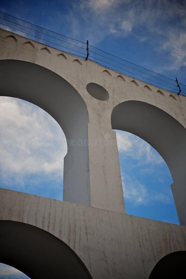 Arcos de lapa imagen de archivo