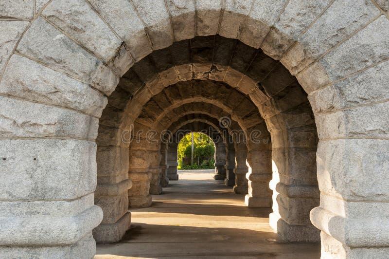 Arcos de pedra foto de stock