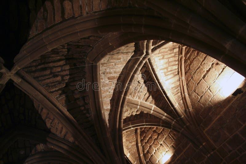 Arcos do teto imagens de stock royalty free