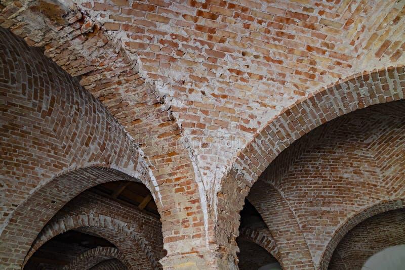 Arcos do tijolo foto de stock