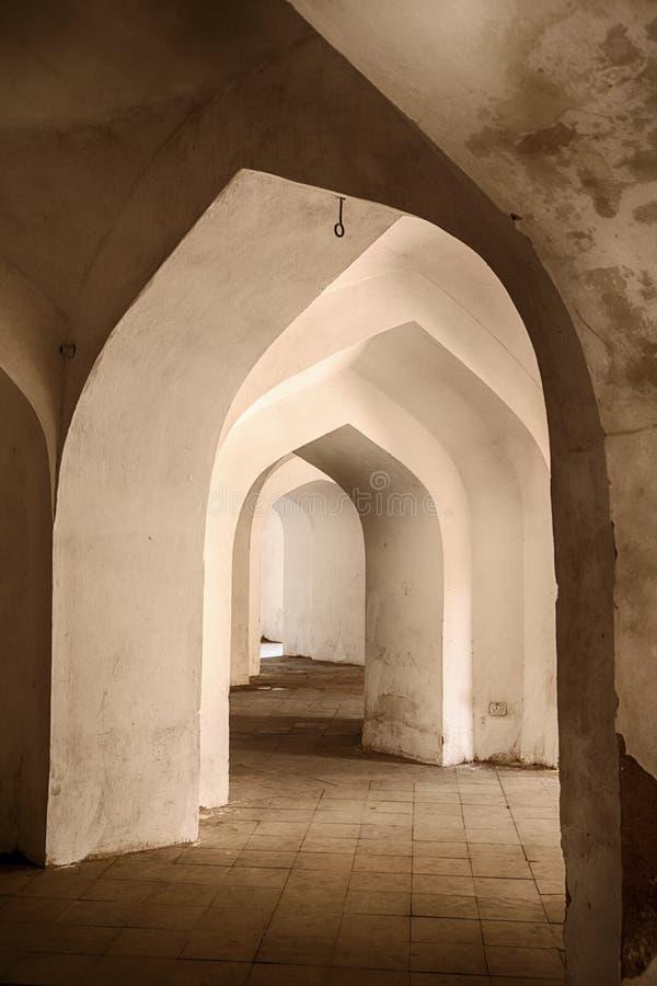 Arcos en el hombre Singh Palace fotografía de archivo libre de regalías