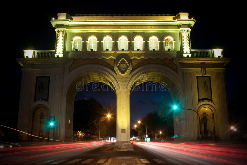 arcos Guadalajara jalisco los monumento obraz royalty free