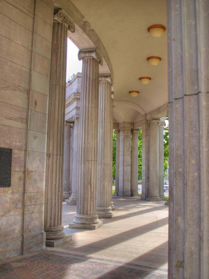 Arcos históricos de Denver fotografía de archivo