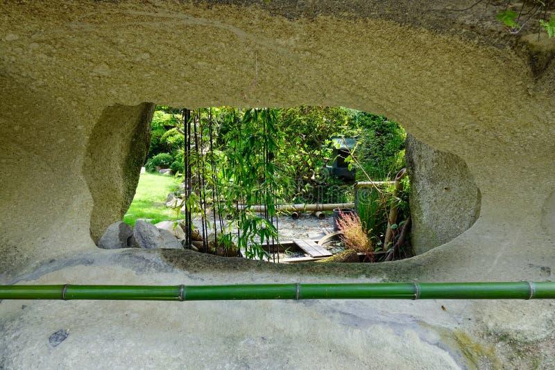 Arcos naturais da rocha em Matsushima, Japão fotos de stock royalty free