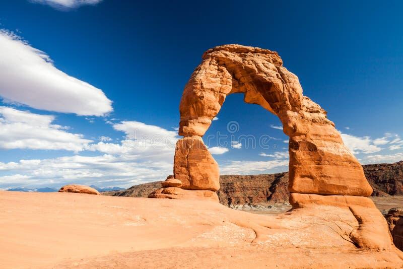 Arcos parque nacional, Utah fotografía de archivo