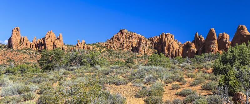Arcos parque nacional, Utah imagen de archivo libre de regalías