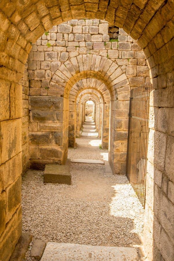 Arcos, Pergamon foto de stock royalty free