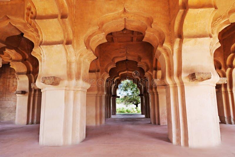 Arcos, templo dos lótus foto de stock royalty free