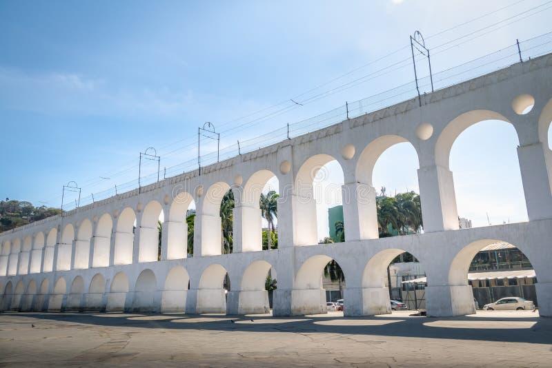 Arcos y Santa Teresa - Rio de Janeiro, el Brasil de Arcos DA Lapa fotos de archivo