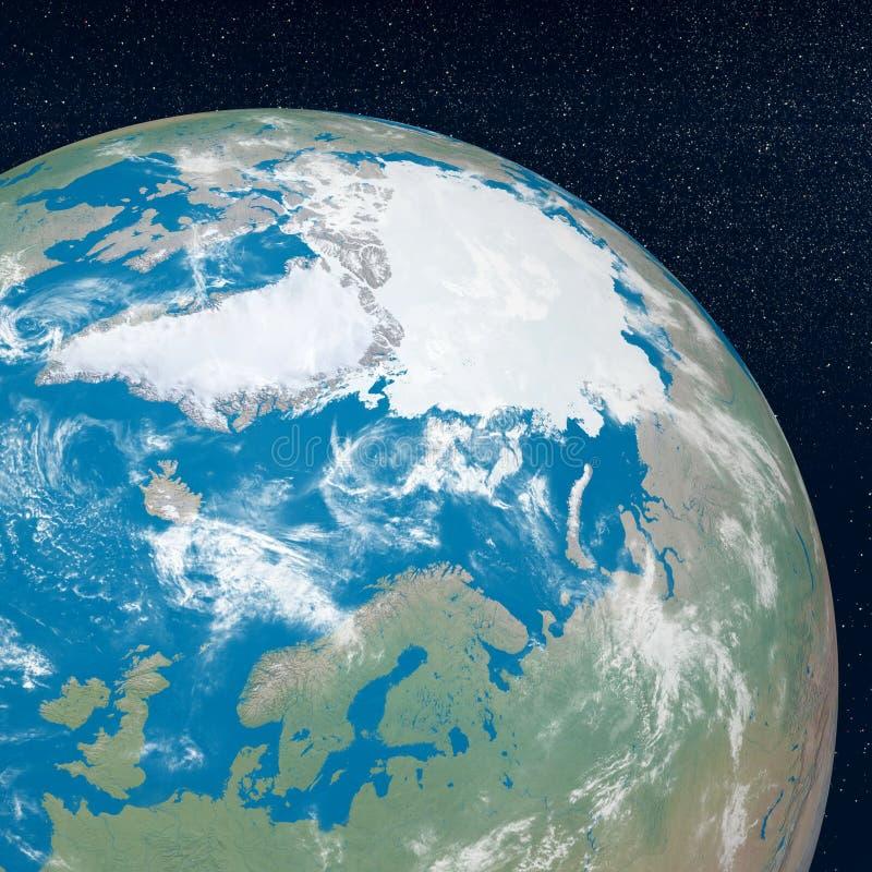 Download Arctic - 3D render stock illustration. Illustration of arctic - 28405357