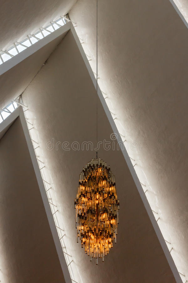Download The Arctic Cathedral. editorial stock image. Image of building - 28846399