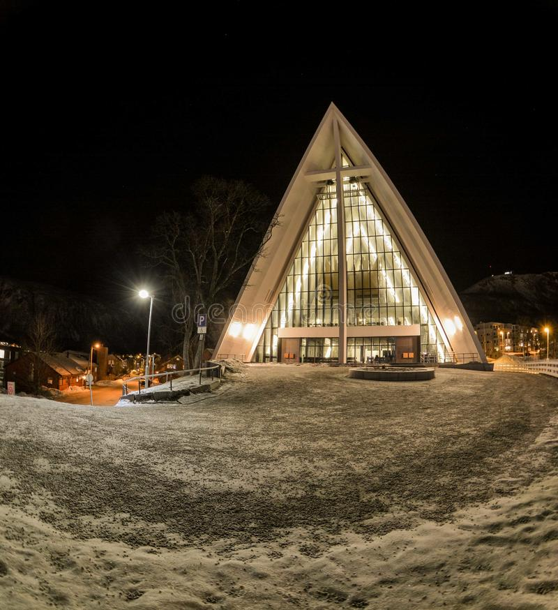 Arctic cathedral royalty free stock images