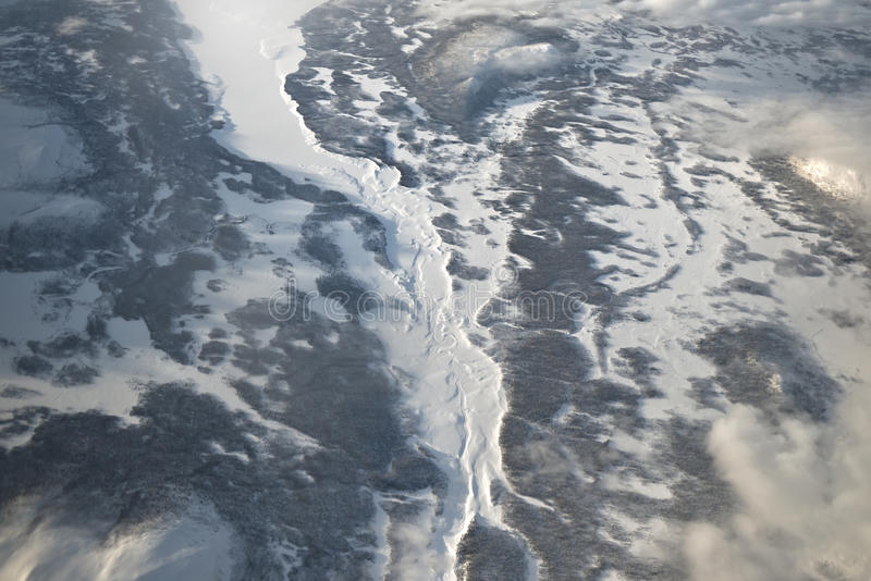 Download Arctic Circle - Frozen Lands And Rivers Stock Image - Image: 38325387