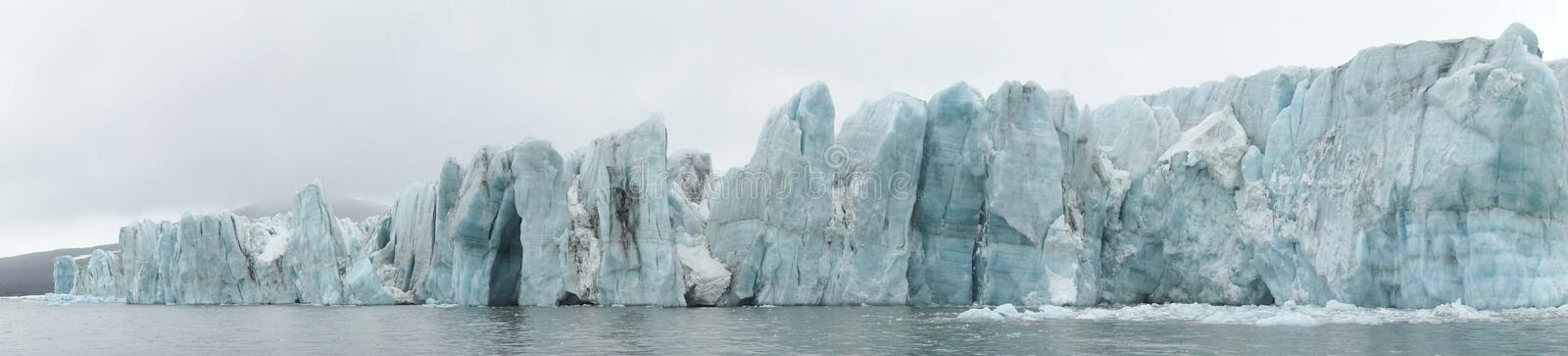 Download Arctic - glacier panorama stock photo. Image of glacier - 16348450