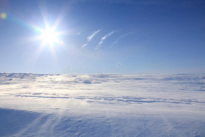 Arctic landscape royalty free stock photos