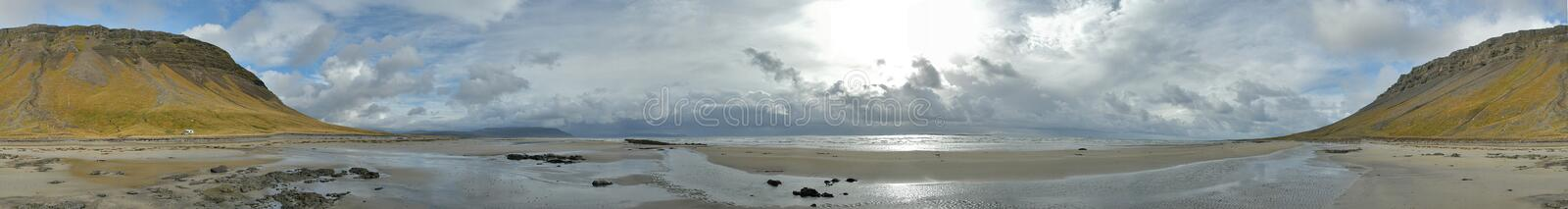 Arctic Ocean Beach royalty free stock images