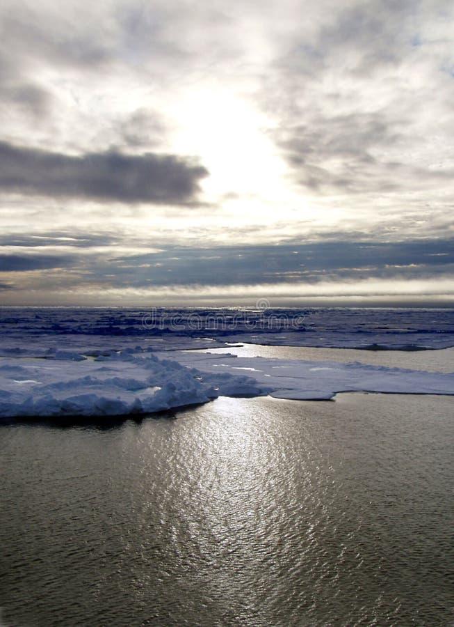 Arctic Sea Stock Photo