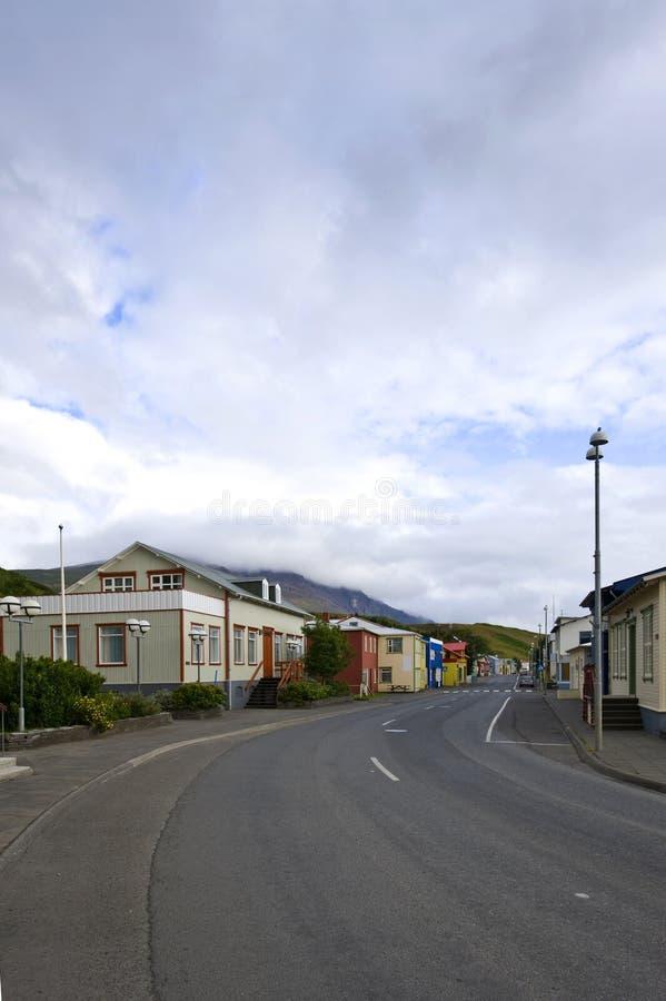 Download Arctic Village stock image. Image of shops, road, four - 6134011
