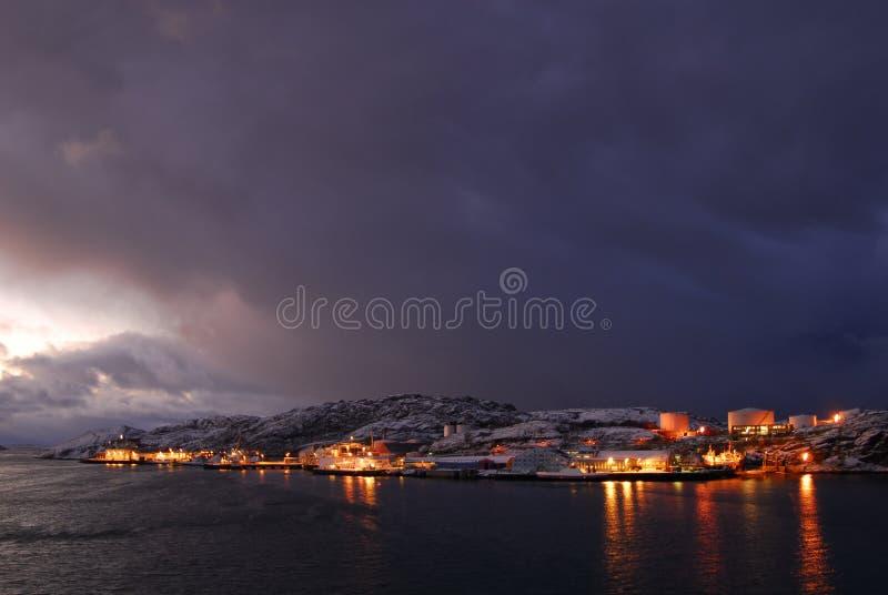 arcticnight Норвегия стоковое изображение rf