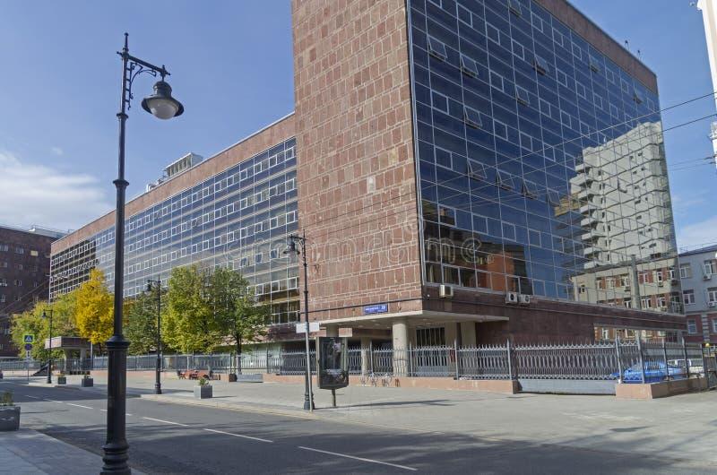 Arcydzieło modernistyczna architektura i typowy przykład obraz stock