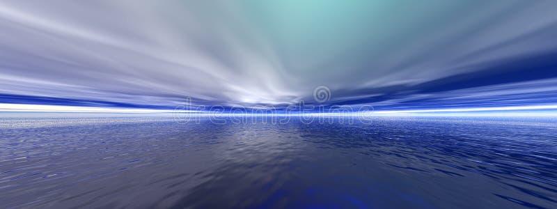 arcytic海洋 向量例证