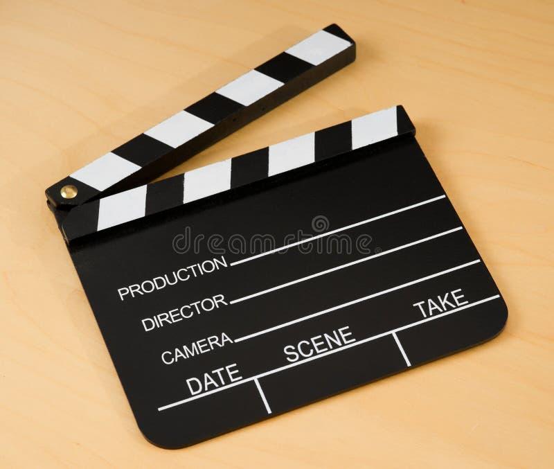 Ardósia de madeira da película foto de stock