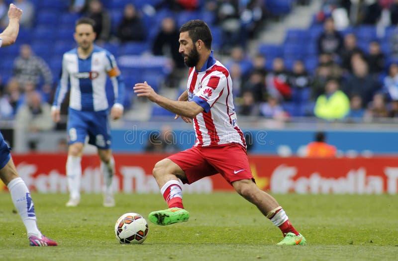 Arda Turan von Atletico Madrid lizenzfreie stockfotos