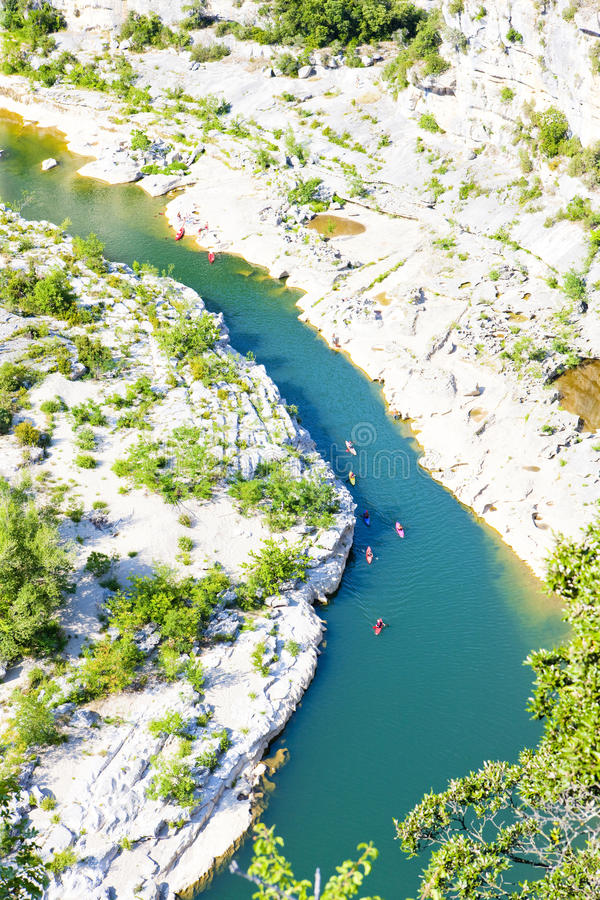 Ardeche Gorge royalty free stock images