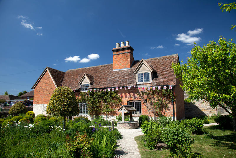 arden gospodarstwa rolnego dom Mary s zdjęcia royalty free