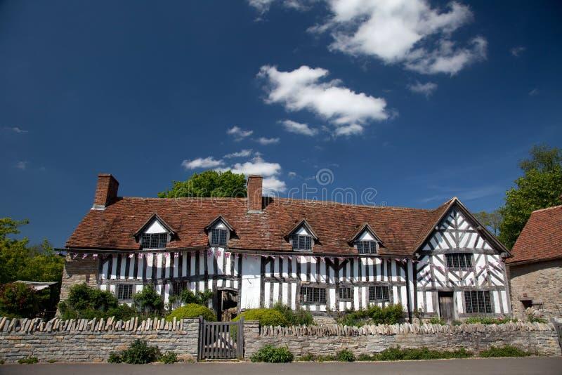 arden gospodarstwa rolnego dom Mary s zdjęcie royalty free