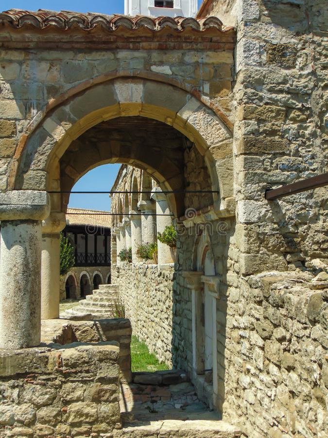 Ardenica kloster, Albanien arkivbilder
