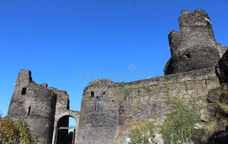 Ardennes kasztel zdjęcie royalty free