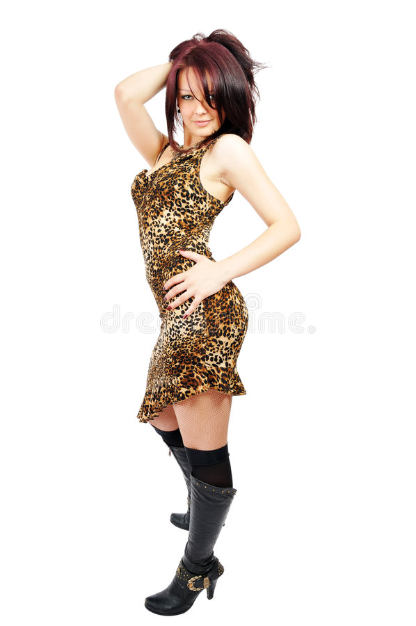Download Ardent Beautiful Posing Girl Stock Photo - Image of background, fashion: 5781252